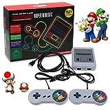 Nintendo Classic Mini Console: Système de divertissement Super Nintendo2018 CONSOLE DE JEUX VIDÉO, SMART HDMI CLASSIC INTÉGRÉ 621 JEUX 2 CONTRÔLEUR