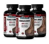 Sex Drive Enhancer for Women - Female LIBIDO Booster - Dietary Supplement - arginine for Women - 3 Bottles 180 Capsules