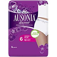 Ausonia Discreet, Compresas para pérdidas de orina, plus G, para vejigas hiperactivas x 8