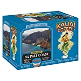 Kauai Coffee Single-serve Pods, Na Pali Coast Dark Roast – 100% Premium Arabica Coffee from Hawaii's Largest Coffee Grower, Compatible with Keurig K-Cup Brewers - 48 Count