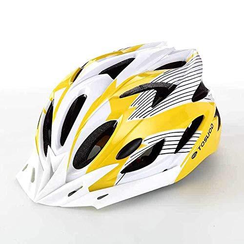 Khffh Fietshelm, mountainbike-helm, verstelbare mountainbike-helm, voor mannen en vrouwen