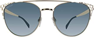 JC750S 32W Gold Round Sunglasses for Womens