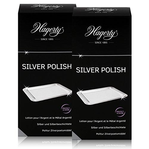 Hagerty Silver Polish - Silberpolitur mit Anlaufschutz 250ml (2er Pack)