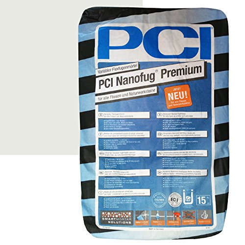 "PCI Nanofug Premium 15kg Flexfugenm""rtel Nr. 16 Silbergrau"