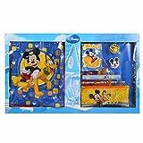 Set de papelería Mickey Mouse con mochila Carpeta de Asilo accesorios