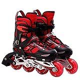 YSCYLY Skates,Chaussures de Patinage Chaussures de poulie,Patins à roulettes Confortables pour Les Filles Et Les GarçOns
