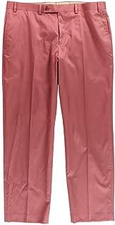 LAUREN RALPH LAUREN Mens Pleated Flat Front Khaki Pants