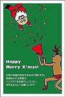 【官製 10枚】 クリスマスカード はがき XS-66-kan