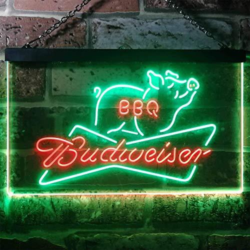 Preisvergleich Produktbild zusme Coors Light Beer Dart Club Bar Novelty LED Neon Sign Green + Red W30cm x H20cm