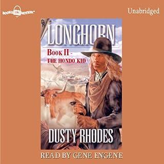 Longhorn: The Hondo Kid audiobook cover art