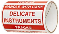 TapeCase Delicate Instruments Fragile Label - 50 per pack (1 Pack) [並行輸入品]