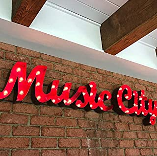 Music City Marquee Sign