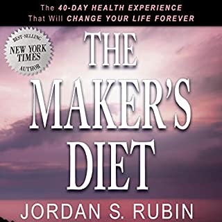The Maker's Diet audiobook cover art