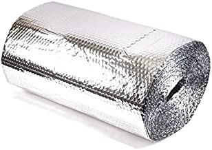 Solar Bay Film 10m White Faced Insulation Acoustiques et Thermal Ouate Isolation pour Camping-Cars,Campeurs,Caravanes
