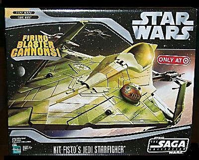 Star Wars Saga '06 Exclusive Vehicle Kit Fisto's Jedi Starfighter by Star Wars