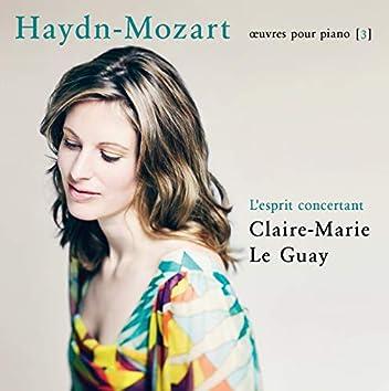 Haydn-Mozart: L'esprit concertant (Œuvres pour piano 3)