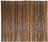 Plantas Artificiales Decorativas Valla de bambú Natural Pantalla antirrobo Refractaria Resistente Refuerzo Anti-UV Uso de jardín Interior o Exterior Cercas Decorativas