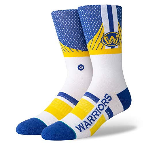 Stance Warriors Shortcut - Calcetines para hombre, Hombre, Calcetines, M545C19WAR, azul, large