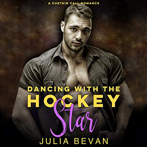 Dancing With the Hockey Star (A Sexy Athlete Romance) audiobook cover art