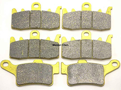 Front Rear Brake Pads Brakes for Can Am Spyder RT RT-S LTD 2013-2017 - ST ST-S LTD RS RS-S 2013-2016 - F3 F3-S F3-T 2015-2017 SE5 SM5 SM6 SE6 - Master Chen FA630F FA631R