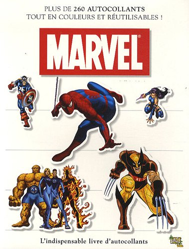 Marvel Spiderman : L'indispensable livre d'autocollants
