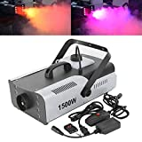 TC-Home 1500W Fog RGB 3in1 8 LED DJ Stage Wedding Smoke Machine Wireless Remote