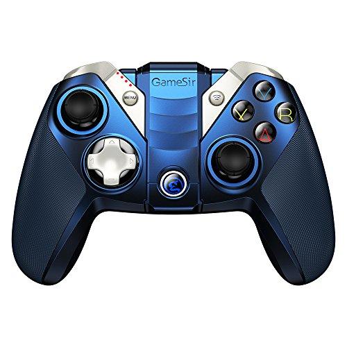 GameSir M2 Bluetooth Game Controller, Wireless MFi Game Controller, Gamepad for iPhone, iPad Pro/Mini/Air, Mac, Apple TV (Blue)