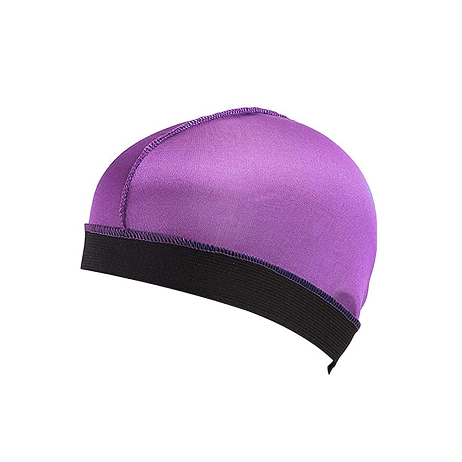 Hunputa Long Hair Care Women Fashion Bonnet Cap Night Sleep Hat Silk Cap Head Wrap