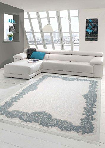 Traum Designer Teppich Moderner Teppich Wollteppich Meliert Wohnzimmer Teppich Wollteppich Bordüre...