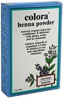 Sponsored Ad - Colora Henna Powder Hair Color Chestnut 2oz (3 Pack)