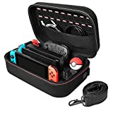 Hestia Goods Carrying Case for Nintendo Switch Carrying Storage Case, Portable Travel All Protective Hard...