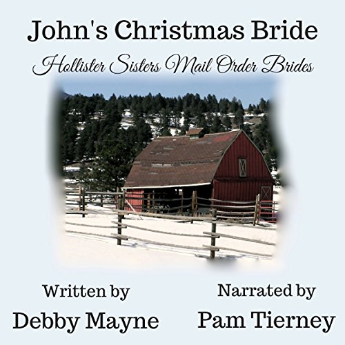 John's Christmas Bride audiobook cover art