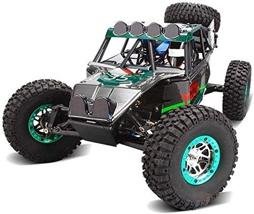 Pkjskh RC Mountain Bike 1:10 Remote-Controlled Electric Four-Wheel Drive Rock Climbing Short Truck   High-Speed Competitive Drift Off-Road Remote Control Car The Best Toy for Parent-Child Interaction