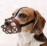 Mayerzon Dog Muzzle, Basket Breathable...