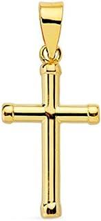 Croix Enfant 15x9 mm - Or Jaune 18 Carats