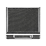 para T/OY-OTA CA-MRY 2018 2019 Caja de Almacenamiento de la Consola de la Consola del Centro de la Fibra de Carbono Cubierta de la decoración de la decoración de la Etiqueta engomada Interior