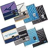 ミズノ ハンドタオル H8002 I8073 MIZUNO スポーツ メーカー ブランド ウォッシュタオル (J8133/ブラック)