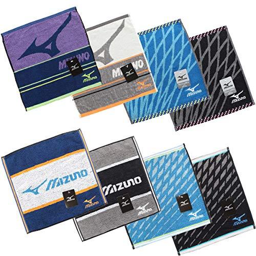 ミズノ ハンドタオル H8002 I8073 MIZUNO スポーツ メーカー ブランド ウォッシュタオル (J8134/アイボリー)
