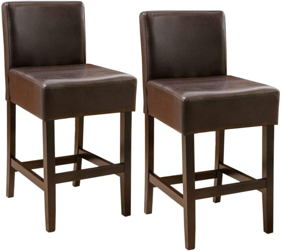 Christopher Knight Home 70% OFF Outlet Portman Large discharge sale Brown Counterstool
