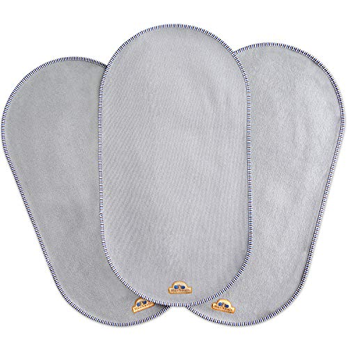 """BlueSnail Waterproof Changing Pad Liners 3 Count (14""""X26.5"""", Gray) Bassinet Pad Liner"""