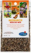 Monarch Butterfly Rescue Wildflower Seeds Bulk Open-Pollinated Wildflower Seed Packet, No Fillers, Annual, Perennial Milkw...