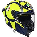 AGV Pista GP R Soleluna Helmet, Gloss Yellow, Size: XL