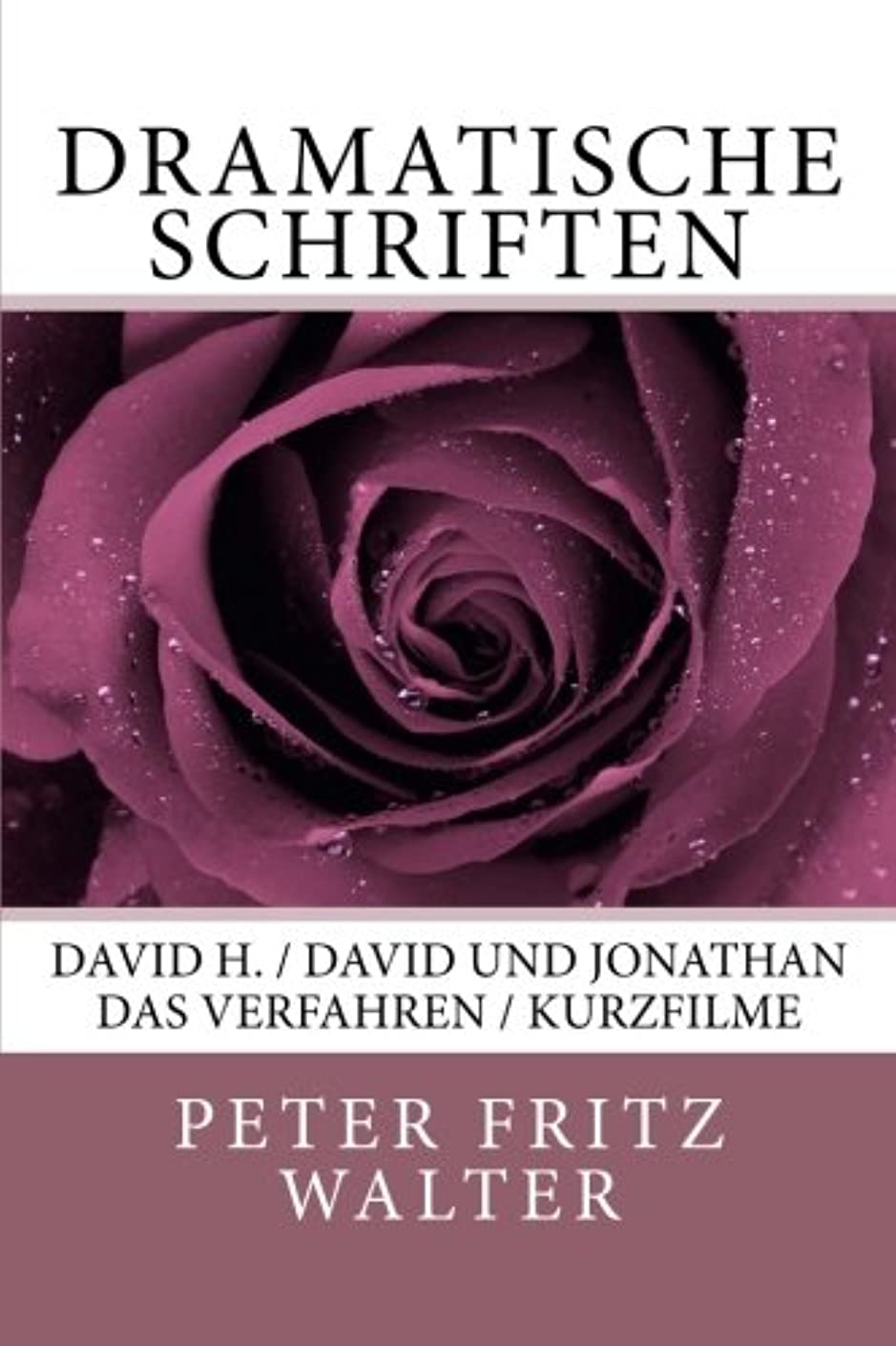 義務的水銀のモルヒネDramatische Schriften: David H. / David und Jonathan / Das Verfahren / Kurzfilme (Deutsche Schriften)