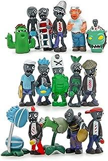 Maggift Plants vs Zombies Series PVC Toys,16 Piece