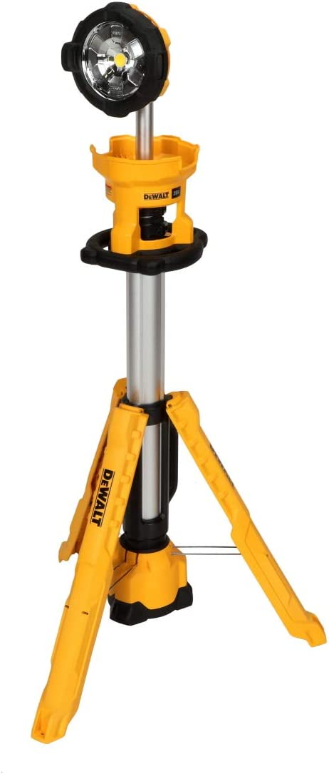 DEWALT 20V MAX LED Clearance Baltimore Mall SALE Limited time Work Light Tool Only Tripod Base DCL079B