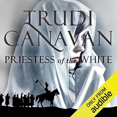 Priestess of the White audiobook cover art