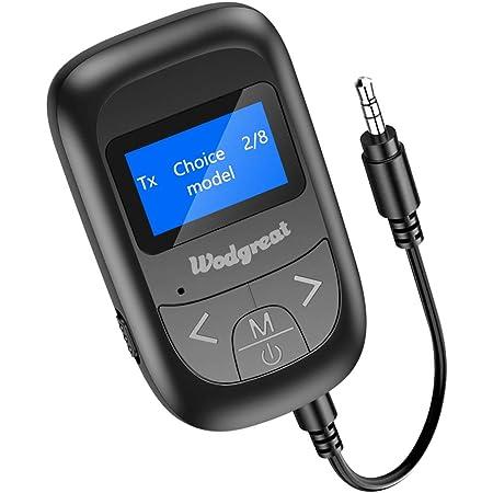 Wodgreat Bluetooth Adapter Transmitter Empfänger 2 In 1 Computer Zubehör