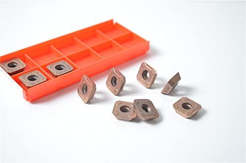 2021 10PCS online R245-12 T3M-PM 1030 Milling Carbide Cutting Inserts For CNC Lathe Turing Tool Holder sale Boring Bar outlet sale