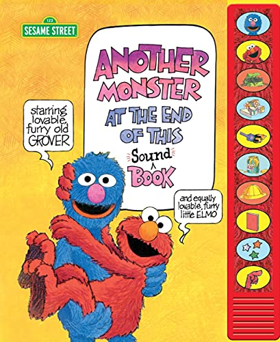 Sesame Street with Elmo and Grover - Another Monster at the End of This Sound Book - Read Along Book Voiced by Elmo and Grover - PI Kids