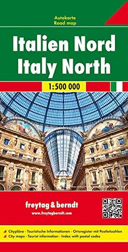 Italien Nord, Autokarte 1:500.000